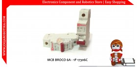 MCB BROCO 6A - 1P 17306C