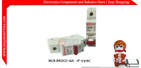 MCB BROCO 16A - 1P 17316C