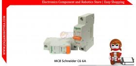 MCB Schneider C6 6A
