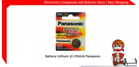 Battery Lithium 3V CR1616 Panasonic