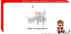 Steker 2 Pin Bulat BROCO