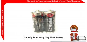 Eveready Super Heavy Duty Size C Battery