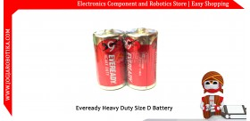 Eveready Heavy Duty Size D Battery
