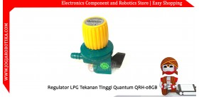 Regulator LPG Tekanan Tinggi Quantum QRH-08GB