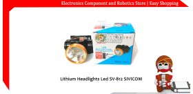 Lithium Headlights Led SV-812 SIVICOM