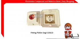 Fitting Plafon Segi COSCO
