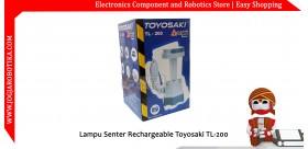 Lampu Senter Rechargeable Toyosaki TL-200