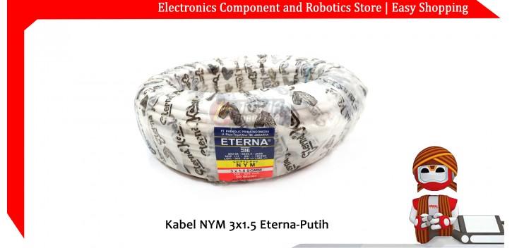Kabel NYM 3x1.5 Eterna-Putih