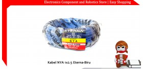 Kabel NYA 1x2.5 Eterna-Biru