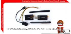3DR FPV Radio Telemetry 433MHz for APM Flight Control 2.6 2.8