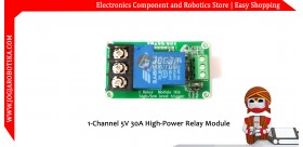 1-Channel 5V 30A High-Power Relay Module