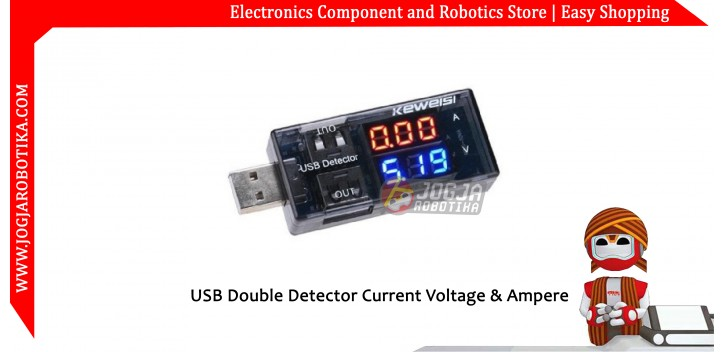USB Doctor Double Detector Current Voltage & Ampere