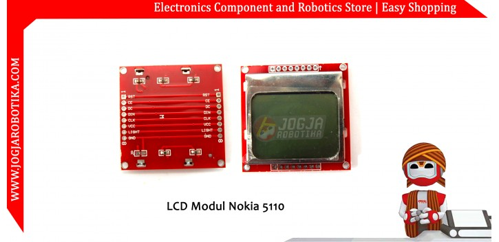 Jual LCD Modul Nokia 5110
