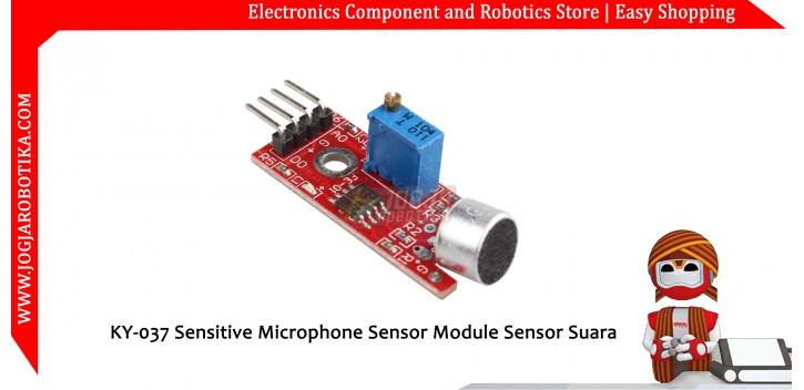 KY-037 Sensitive Microphone Sensor Module Sensor Suara