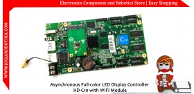 Asynchronous Full-color LED Display Controller HD-C10 with WIFI Module