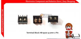 Terminal Block HB-9500 9.5mm 2 Pin