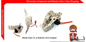 Metal Claw CL-4 Robotic Arm Gripper