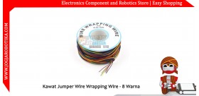 Kawat Jumper Wire Wrapping Wire - 8 Warna 30AWG 250m