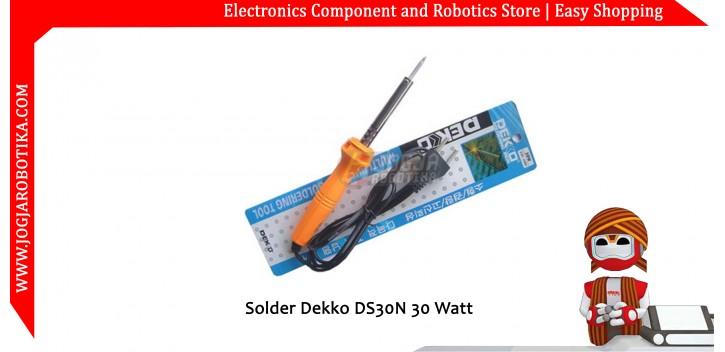 Solder Dekko DS30N 30 Watt - Toko Komponen Elektronik , Listrik , LED dan Robotika
