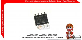 MAX6675ISA MAX6675 SOP8 SMD Thermocouple Temperature Sensor IC Converter