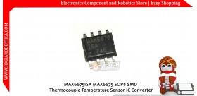 MAX6675ISA MAX6675 SOP8 SMD Thermocouple Temperature Sensor IC Converter