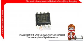 MAX31855 SOP8 SMD Cold-Junction Compensated Thermocouple-to-Digital Converter