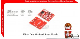 TTP223 Capacitive Touch Sensor Module