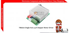TB6600 Single Axis 4.5A Stepper Motor Driver