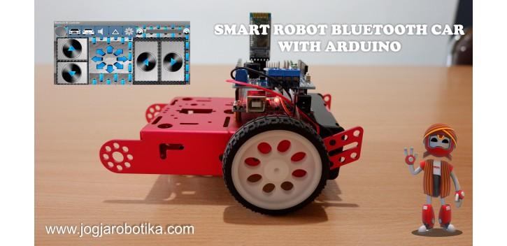 Smart Robot Bluetooth Car with Arduino UNO
