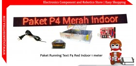 Paket Running Text P4 SMD Indoor
