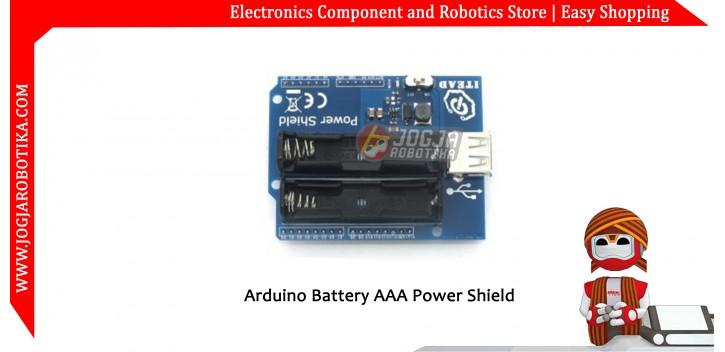 Arduino Battery AAA Power Shield