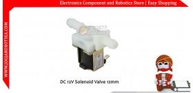 DC 12V Solenoid Valve 12mm
