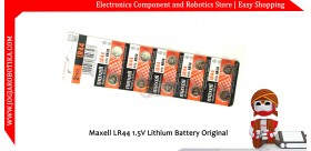 Maxell LR44 1.5V Lithium Battery Original