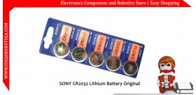 SONY CR2032 Lithium Battery Original