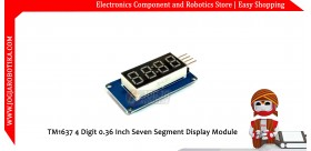 TM1637 4 Digit 0.36 Inch Seven Segment Display Module