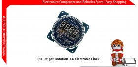 DIY Ds1302 Rotation LED Electronic Clock