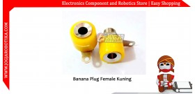 Banana Plug Female Kuning
