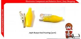 Jepit Buaya Kecil Kuning (3cm)