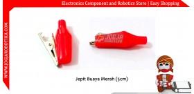 Jepit Buaya Merah (5cm)