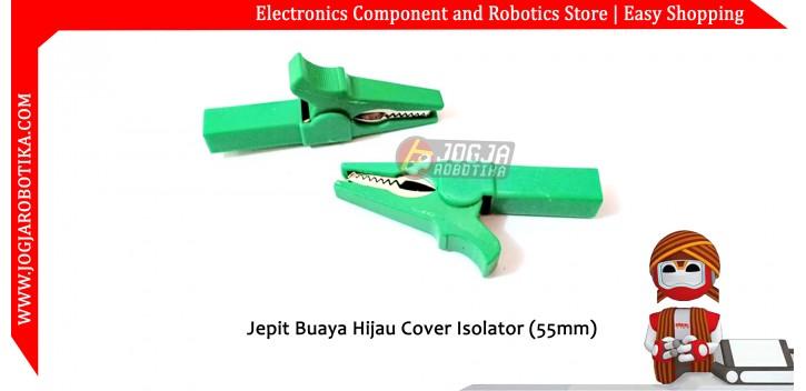 Jepit Buaya Hijau Cover Isolator (55mm)