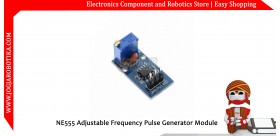 NE555 Adjustable Frequency Pulse Generator Module