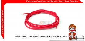Kabel 20AWG 1007 20AWG Electronic PVC Insulated Wire - Merah