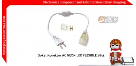 Soket Konektor AC NEON LED FLEXIBLE 2835