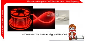 Neon Led Flexible Merah 2835 Waterproof
