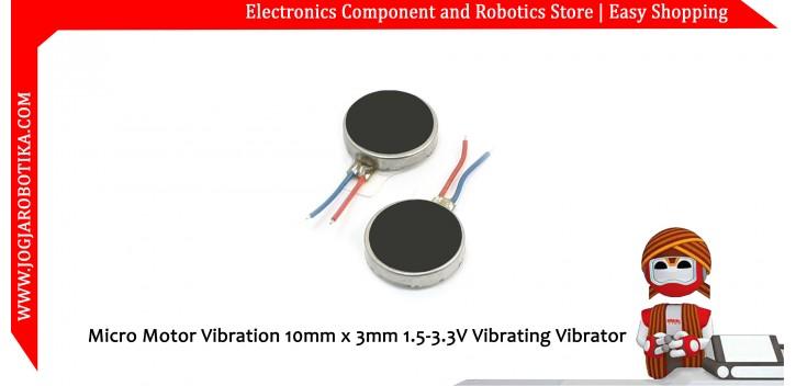 Micro Motor Vibration 10mm x 3mm 1.5-3.3V Vibrating Vibrator