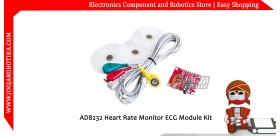 AD8232 Heart Rate Monitor Module Kit