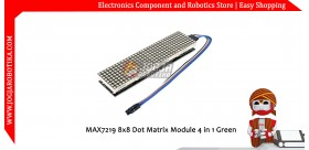 MAX7219 8x8 Dot Matrix Module 4 in 1 Merah