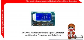 XY-LPWM PWM Square Wave Signal Generator w/ Adjustable Frequency and Duty Cycle