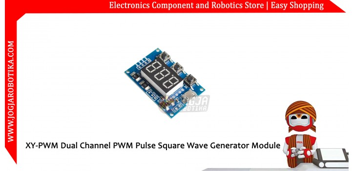 XY-PWM Dual Channel PWM Pulse Square Wave Generator Module