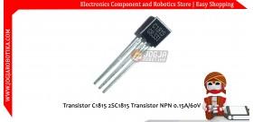 Transistor C1815 2SC1815 Transistor NPN 0.15A/60V